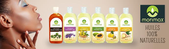 MORIMAX, huiles 100% naturelles