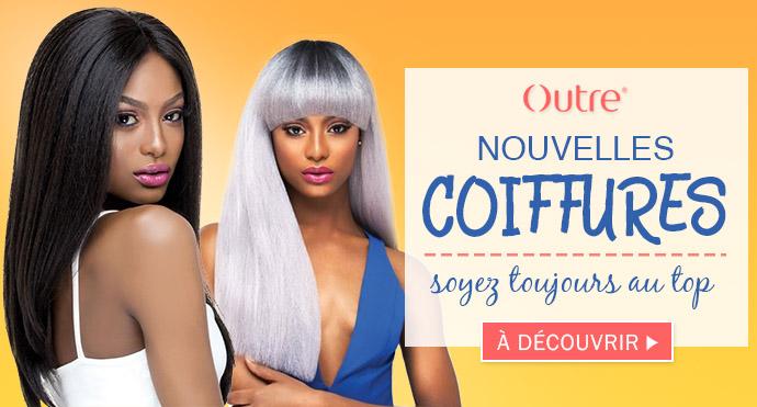 Nouvelles coiffures de la marque OUTRE Octobre 2017