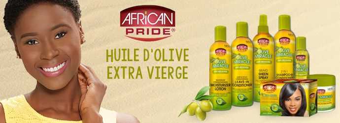 AFRICAN PRIDE, olive miracle