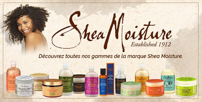 SHEA MOISTURE toutes les gammes - SUPERBEAUTE.fr
