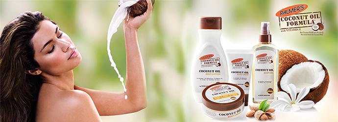 PALMER'S, gamme huile de coco
