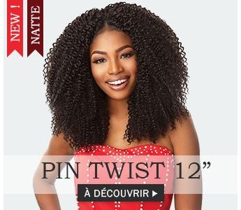 Nouvelle mèche à crochet PIN TWIST