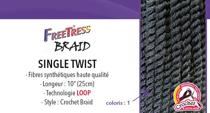 FREETRESS, natte SINGLE TWIST