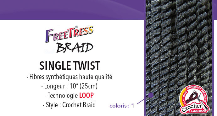 FREETRESS natte SENEGAL TWIST 12""