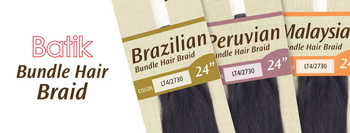 BATIK OUTRE NATTE BRAZILIAN BUNDLE HAIR