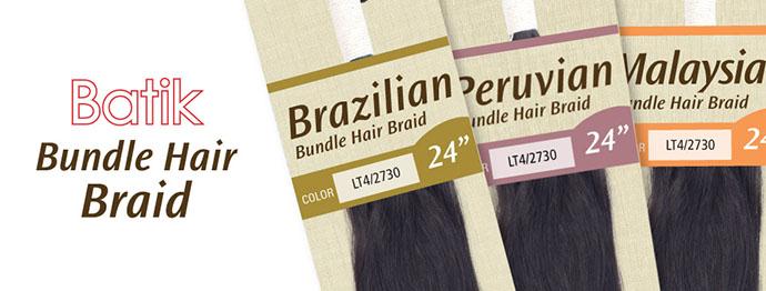 BATIK OUTRE NATTE BRAZILIAN BUNDLE HAIR