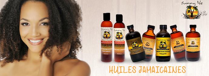 SUNNY ISLE, huiles jamaicaines