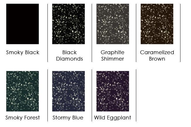 Tableaux coloris eyeliners gel Kleancolor