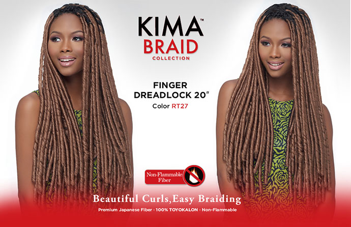 FINGER DREADLOCK KIMA BRAID HARLEM 125