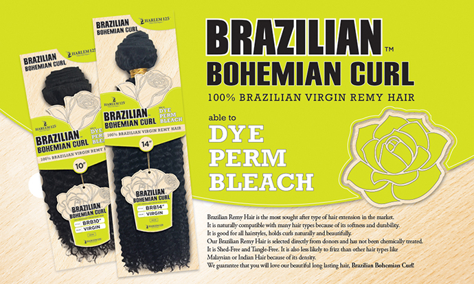 HARLEM 125 TISSAGE BRAZILIAN BOHEMIAN CURL