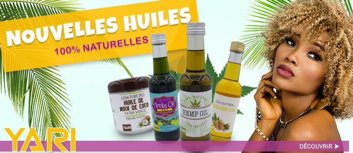Nouvelles huiles YARI Mai 2018 >>>>