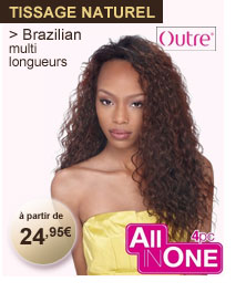 Tissage naturel Brazilian multi longueurs