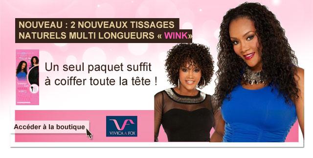 Nouveaux tissages WINK de Vica Fox