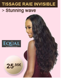 Equal tissage raie invisible STUNNING WAVE 5 pcs