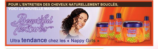 Pour l'entretien des cheveux naturellements bouclés, voici la nouvelle marque BEAUTIFUL TEXTURES