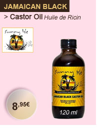 Jamaican Black Castor Oil huile de Ricin 120 ml