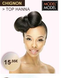 Chignon ModelModel Top Hanna