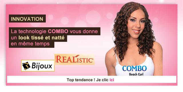 Bijoux tissage natte technologie COMBO