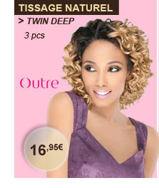 Outre tissage naturel Twin Deep