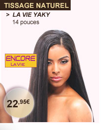 Encore LaVie tissage naturel Yaky