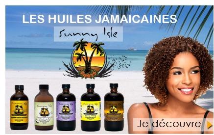 Huiles Jamaicaines Sunny Isle