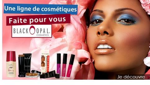 Ligne cosmetique Black Opal