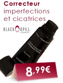 Correcteur imperfections et cicatrices Black Opal