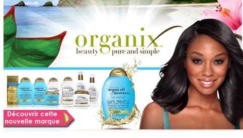 Nouvelle marque Organix