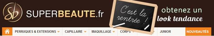 Obtenez un look tendance avec le site superbeaute.fr - Cheveux - capillaire - maquillage - soins du corps et du visage - junior