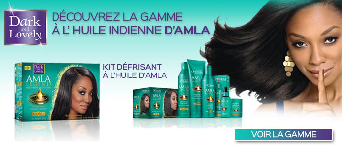 Gamme huile Alma Dark and Lovely