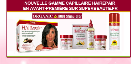 Nouvelle gamme capillaire Hairepair