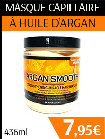 Masque capillaire Argan Smooth