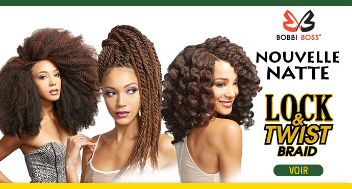 Nouvelle natte Lock and Twist Braid de BOBBI BOSS