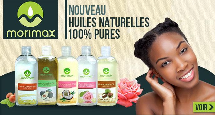 Nouvelles huiles naturelles MORIMAX