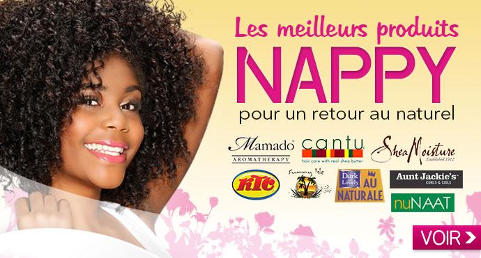 Les meilleurs produits NAPPY pour un retour au naturel