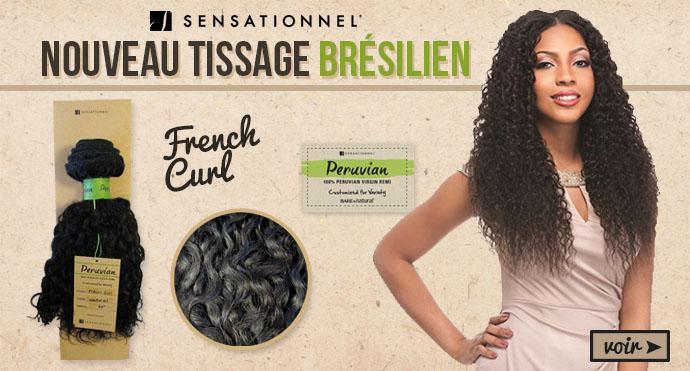 Nouveau tissage Bresilien Sensationnel