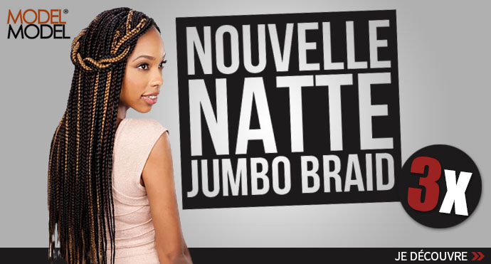 Nouvelle natte MODEL MODEL Giant Braid