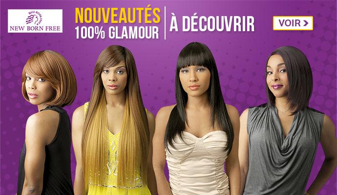 Nouveautés 100% glamour NEW BORN FREE