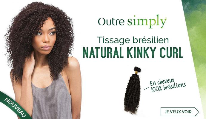 Tissage Brésilien OUTRE Natural Kinky Curl