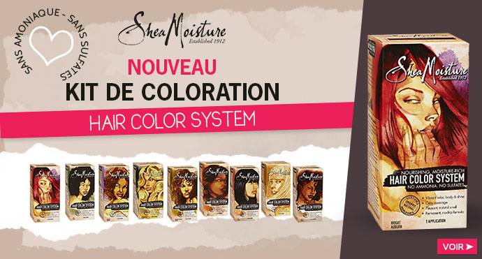Kit de coloration SHEA MOISTURE