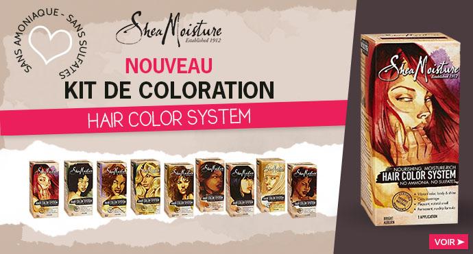 Kit de coloration SHEA MOISTURE