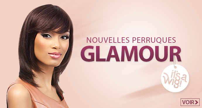 Nouvelles perruques glamour It's a Wig