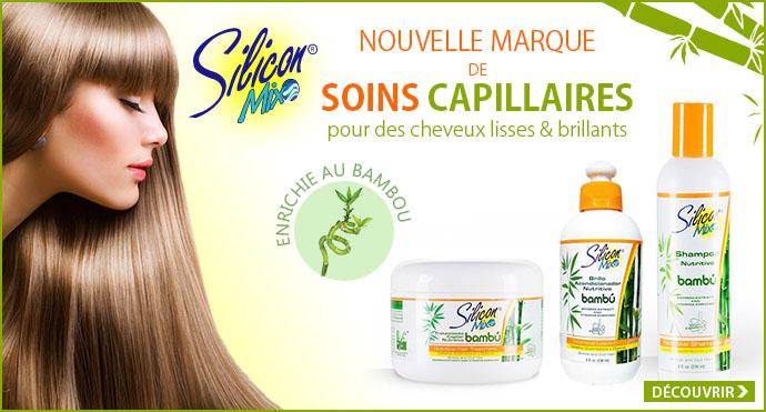 Nouvelle marque de soins capillaires SILICON MIX