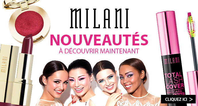 Nouveautés maquillage MILANI