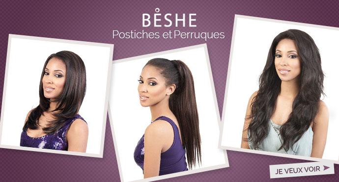 Nouveaux postiches et perruques BESHE