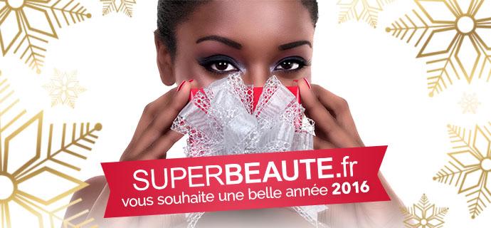 SUPERBEAUTE.fr vous souhaite une belle année 2016