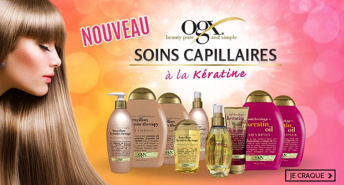 Nouveaux soins capillaire OGX