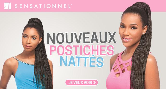 Noueaux postiches nattés SENSATIONNEL