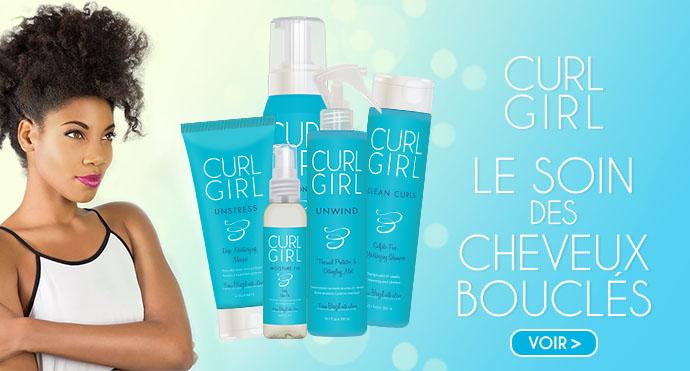 CURL GIRL : le soin des cheveux bouclés