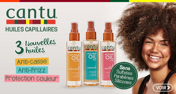 Nouvelles huiles capillaires CANTU